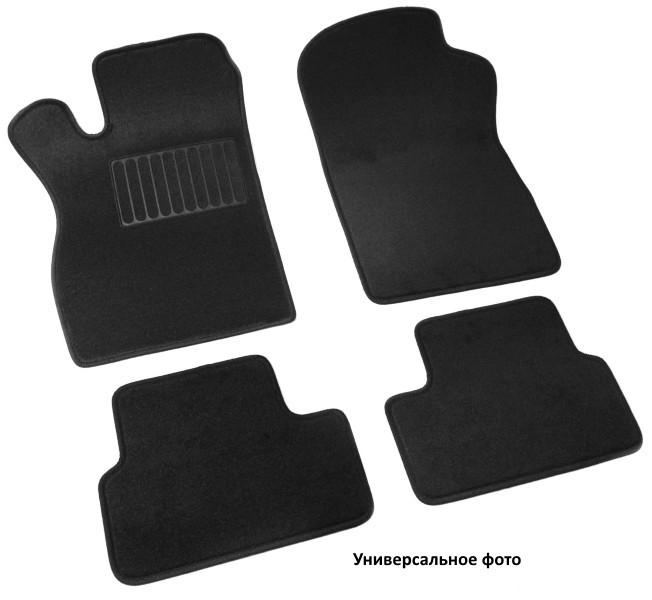 Коврики салона текстильные, чёрные (3D) SV-Design 3616-UNF3-15N для Mitsubishi Pajero IV 2006-