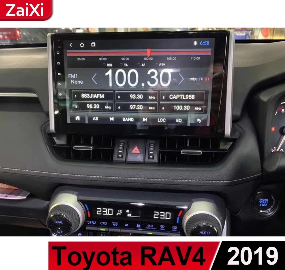 Магнитола штатная Zaixi Toyota RAV4 new (Тойота РАВ4) 2019 +