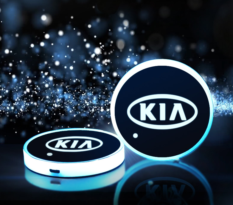Светодиодная подсветка подстаканников для Kia Sportage IV 2016 - шторка в багажник для kia sportage iv 2016