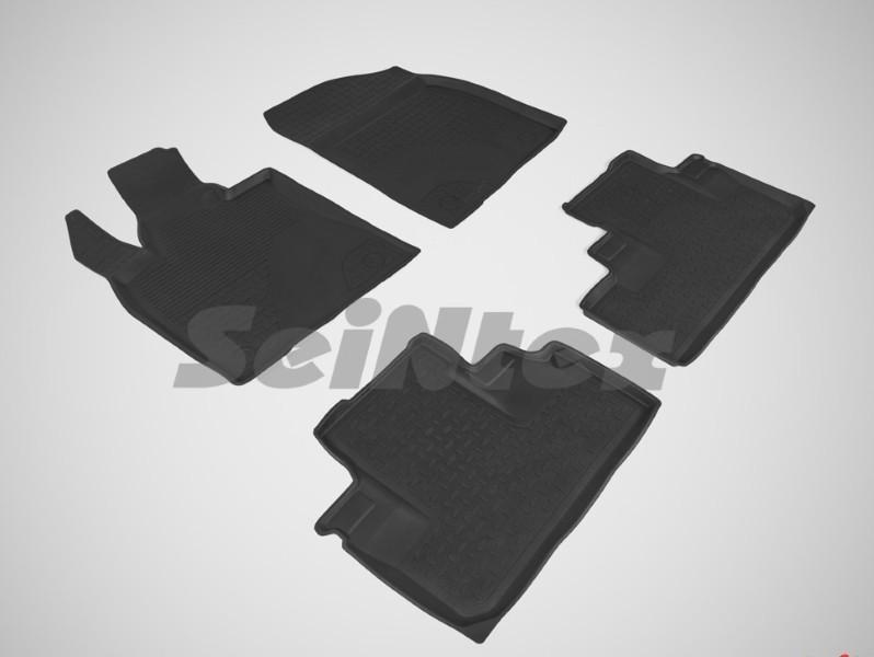 Коврики в салон Seintex резина черный 87474 Lexus RX 2015-