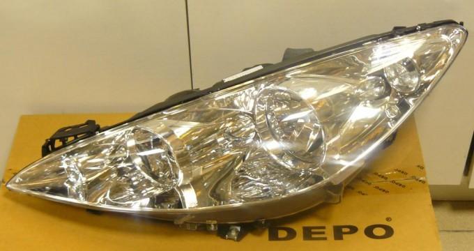 Фара передняя DEPO для Peugeot 408 2012 -