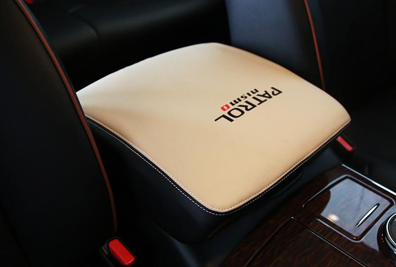 Чехол на подлокотник для Nissan Patrol 2014 - шильдик на капот patrol для nissan patrol 2014