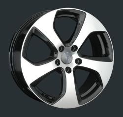Диск колесный LS Replay VV150 6.5xR16 5x112 ET50 ЦО57.1 черный глянцевый с полированной лицевой частью S029360