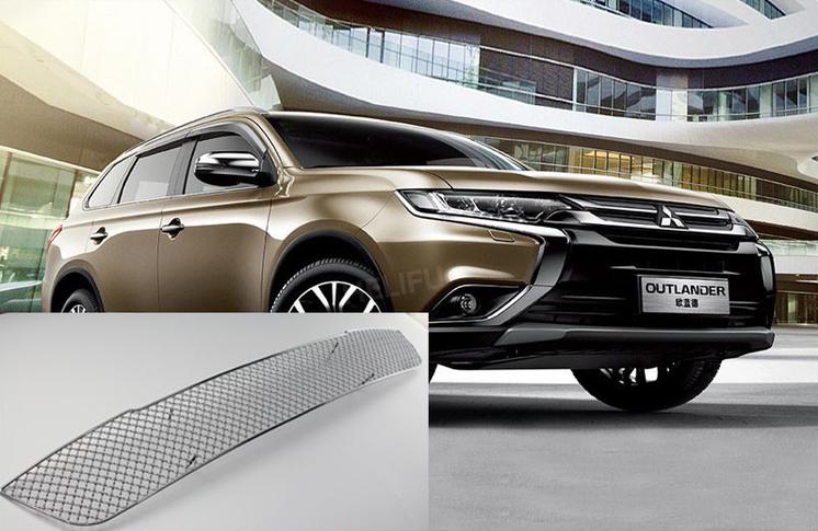 Защитная решетка радиатора Jinhao для Mitsubishi Outlander 2015 -