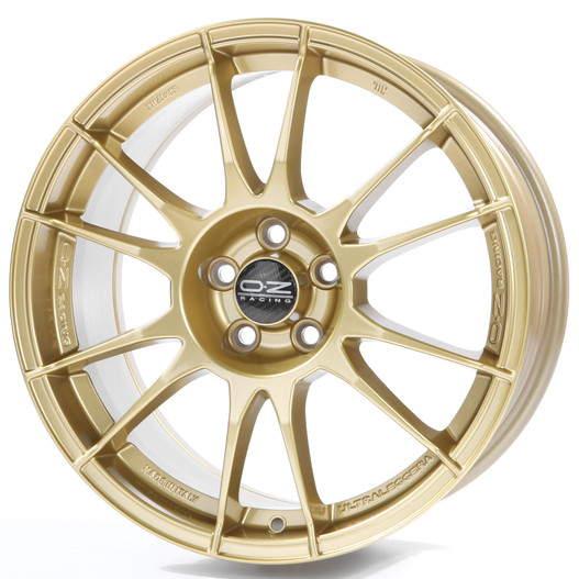 Диск колесный OZ Ultraleggera 8xR17 5x114,3 ET48 ЦО75 золотой W0171020476