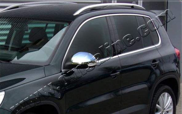 Накладки на зеркала Omsa для Volkswagen Tiguan (2007 - 2016)