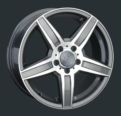 Диск колесный LS Replay MR99 8xR17 5x112 ET38 ЦО66.6 серый глянцевый с полированной лицевой частью 826418