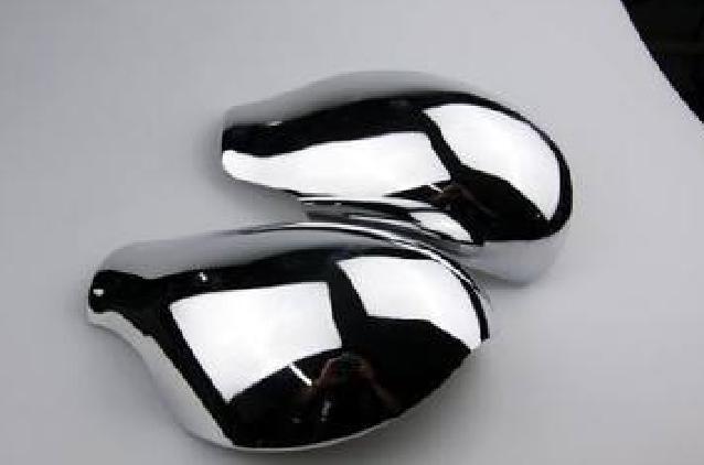 накладки на боковые зеркала хромированные chn для mitsubishi outlander 2012 2018 Хромированные накладки на боковые зеркала для Peugeot 408 2012 -