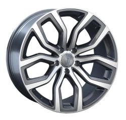 Диск колесный LS Replay B110 9xR19 5x120 ET18 ЦО72.6 серый глянцевый с полированной лицевой частью S018793