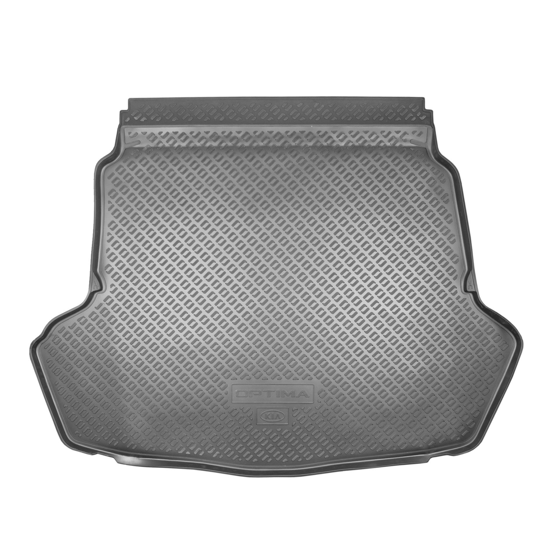 Коврик багажника Hyundai/Kia черный R8570D4001 Kia Optima (4G) 2015-, рест. 2018- штатный колесный диск 19 дюймов mobis 52910d4710 для kia optima 2018