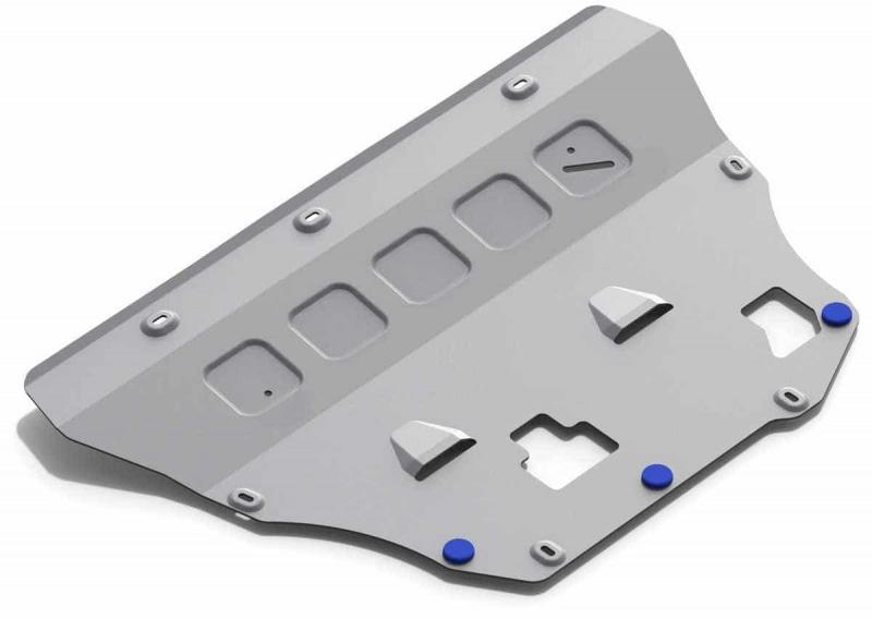 Защита картера и КПП, алюминий Rival 333.5912.1 для Volvo XC90 2015- недорого