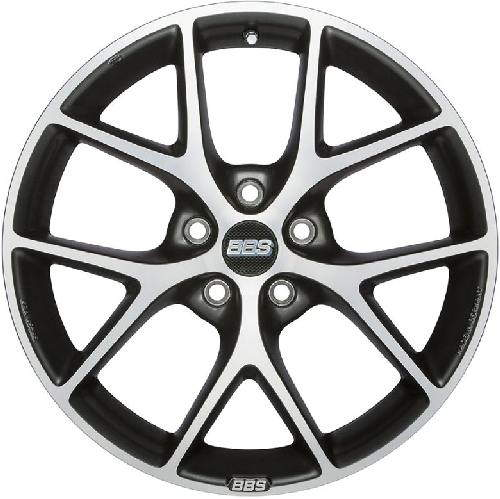 Диск колесный BBS SR016 8xR18 5x112 ET45 ЦО82 серый матовый с полированной лицевой частью 0360539#