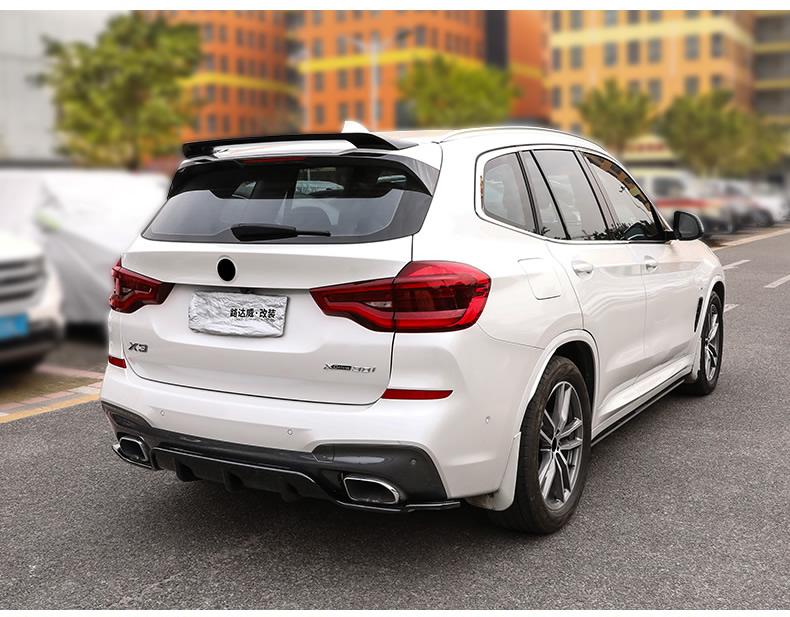 Спойлер задней двери Star Car для BMW X3 2017, 2018, 2019