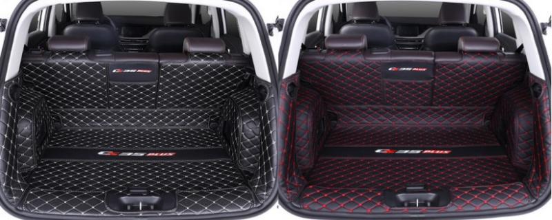 Фото - Коврик для багажника 4 элемента для Changan CS35 Plus 2019- коврик для багажника черный с красным 2 элемента для changan cs35 plus 2019