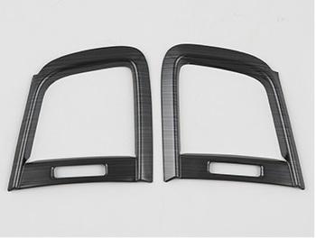 Накладки на воздуховод (черные) Honda CRV 2020-