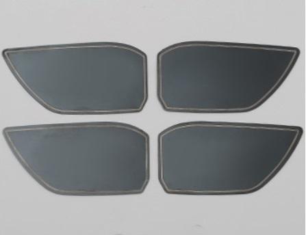 Наклейки в дверные ниши Honda CRV 2020- распашные шкафы 4 дверные