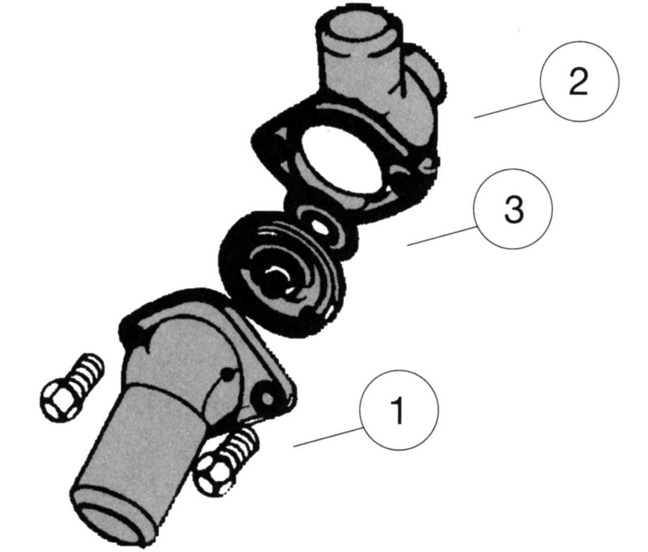 Корпус термостата FORD для Ford Explorer (2010 - 2015)
