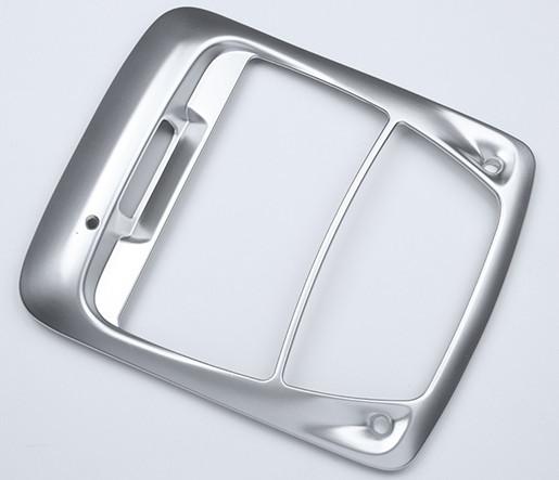 Накладка на центральную панель (серебро) для Renault Koleos 2017 -