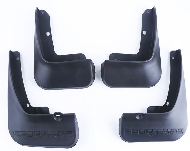 Брызговики (передние и задние) CHN для Kia Sportage III 2010-2015 брызговики передние и задние для audi q7 2016