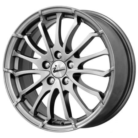 Диск колесный iFree Фриман 6,5xR16 5x114,3 ET39 ЦО66,1 серый темный глянцевый 086503 недорого