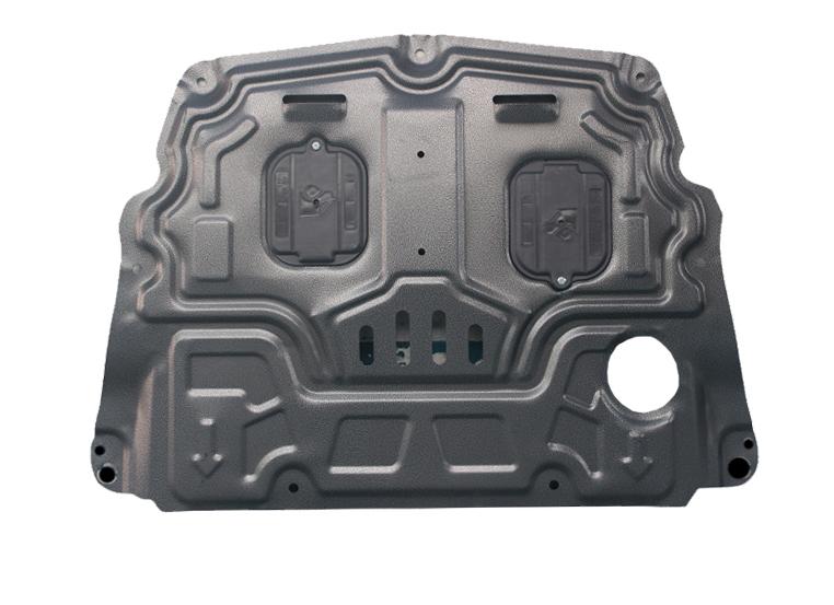 Фото - Защита картера и кпп стальная CHN для Volvo S90 защита картера и кпп rival для mg 5 акпп 2013 н в 350 акпп 2010 2015 сталь 2 мм с крепежом 111 8601 1