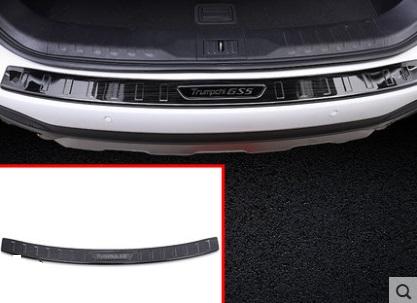 Накладка на порог багажника внешняя для GAC Trumpchi GS5 2020- накладка на порог багажника внешняя для gac trumpchi gs5 2020