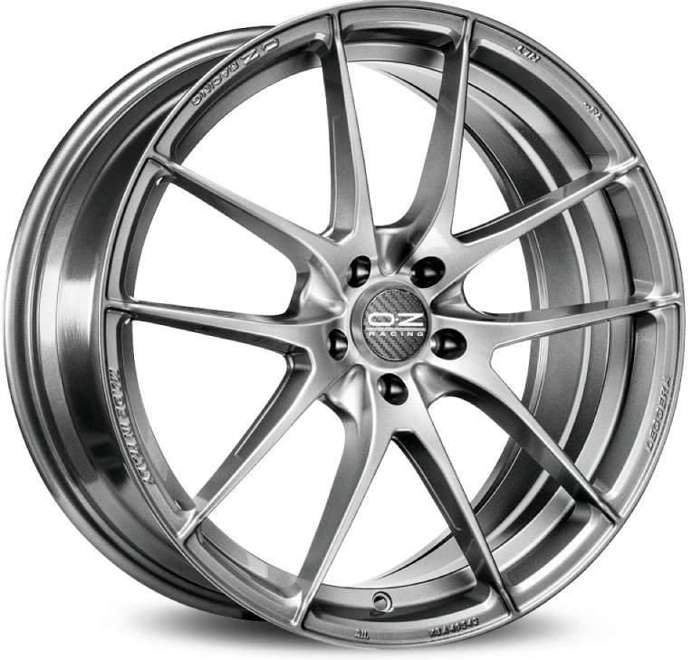 Диск колесный OZ Leggera HLT 8xR18 5x100 ET35 ЦО68 серый матовый W01974200H1