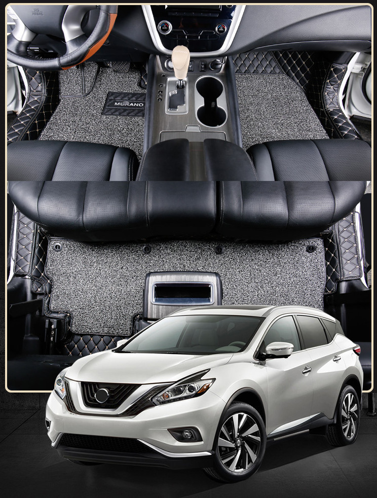 3D обшивка в салон (с ковриками) Nissan Murano 2016-