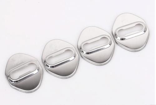 Накладки на замки стальные CHN для Mazda CX-5 2017 - хромированные накладки на дверные стойки chn для mazda cx 5 2017