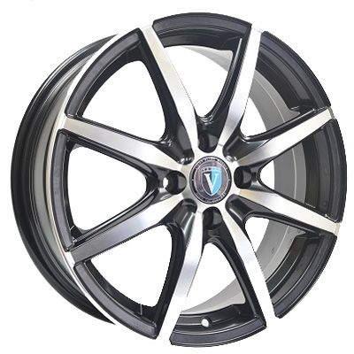 Диск колесный Venti 1715 7xR17 5x112 ET45 ЦО57.1 чёрный с полированной лицевой частью rd833582