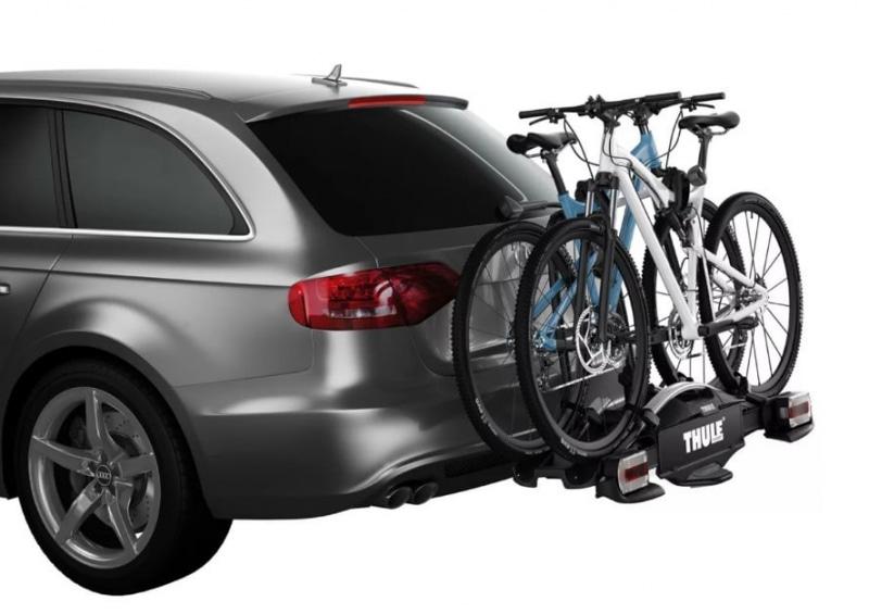 Крепление для перевозки двух велосипедов на фаркоп TOWING