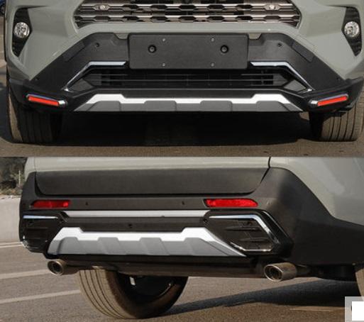 Комплект защиты бамперов Toyota RAV4 2019-