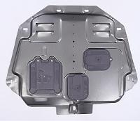 Защита картера и кпп, алюминиевая CHN для Haval F7X (Хавал Ф7Х) защита картера и кпп rival алюминиевая для toyota camry 2018