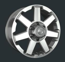 Диск колесный LS Replay TY176 7.5xR18 6x139.7 ET25 ЦО106.1 серый глянцевый с полированной лицевой частью S031352