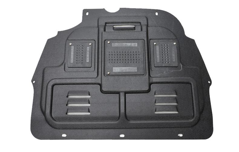 Защита картера двигатели и кпп, композитная c технологическими лючками Li Kewei для PEUGEOT 3008 2017 - недорого