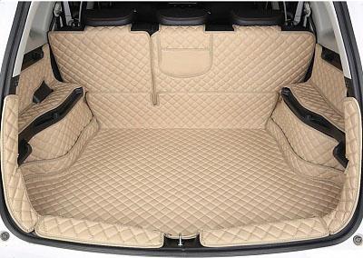 3D обшивка в багажник (кожаные, с заходом на спинки сидений) Haval H6 Coupe 2017-