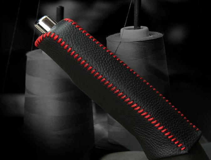 оплетка ручника mitsubishi outlander 2012 Оплетка ручника (кожа) для Hyundai Grand Santa Fe (2012 - 2018)