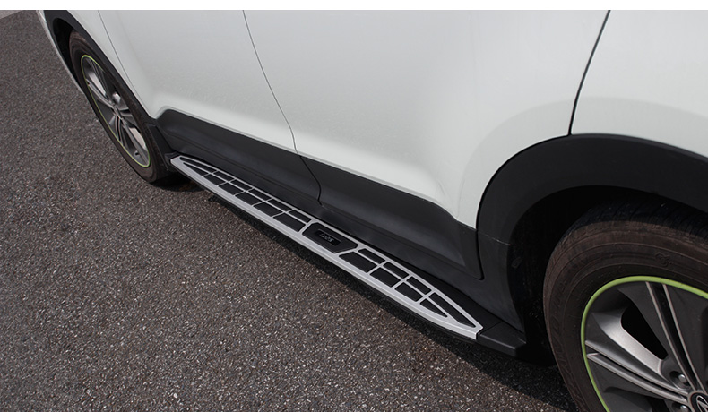 Пороги, боковые подножки BMW Style Line для CRETA