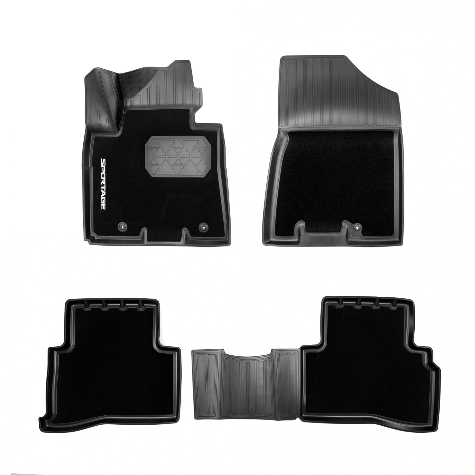 Коврики в салон Hyundai/Kia полиуретан черный R8130F1004 Kia Sportage (4G) рест. 2018- недорого