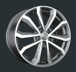 Диск колесный LS Replay VV173 7xR17 5x112 ET43 ЦО57.1 серый глянцевый с полированной лицевой частью S028605