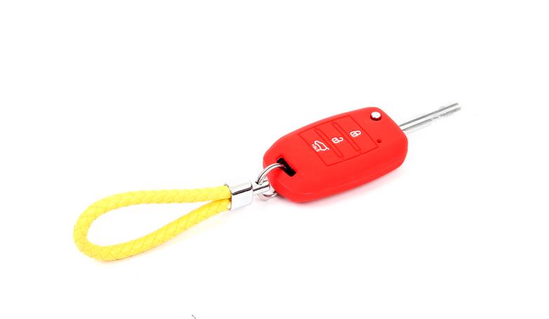 Фото - Чехол силиконовый для выкидного ключа для KIA Sportage IV 2016 - чехол силиконовый для ключа polo sedan