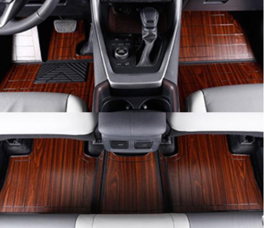 Коврики в салон (тик, коричневые) Toyota RAV4 2019- коврики в салон резиновые toyota pt908 03180 20 для toyota camry 2018