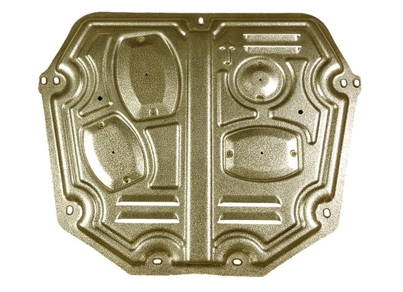 Защита картера и кпп, стальная для Haval F7 (Хавал Ф7) 2018 + защита ford kuga 2013 1 6 картера и кпп штамповка