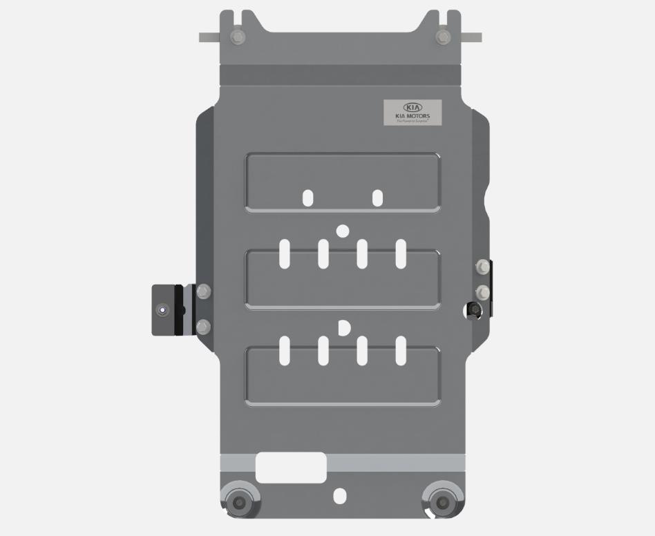 накладки на пороги с led подсветкой и надписью stinger kst dsax 01 для kia stinger 2018 Защита трансмиссии Hyundai/KIA алюминий R4010J5200 Kia Stinger (1G) 2017-