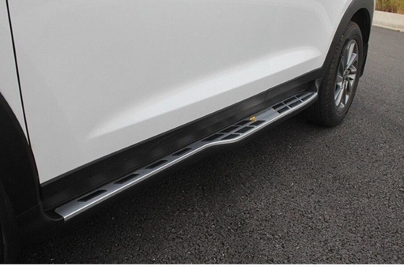 Пороги, боковые подножки Aero Style Hyundai Tucson ( Хендай Тусан ) 2015 - 2020
