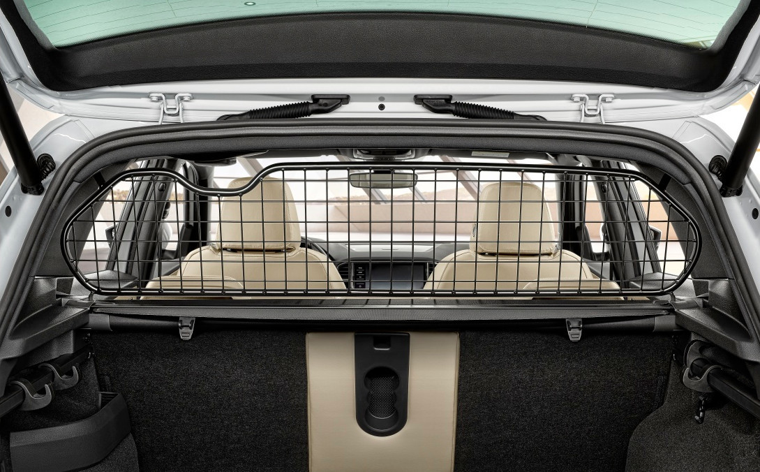 Разделительная решетка в багажник (черный) Skoda 57A017221 Skoda Karoq 2020 (Шкода Карок)