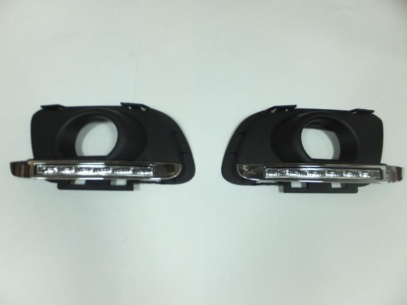Штатные светодиодные дневные ходовые огни (ДХО), комлект. OEM DRL DRL18223 для Mazda 6 2007-2012- штатные светодиодные дневные ходовые огни дхо комлект oem drl drl19791 для ford focus iii 2011 2015