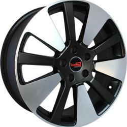 Диск колесный LegeArtis Реплика Concept-KI515 7xR18 5x114.3 ET35 ЦО67.1 черный матовый с полированной лицевой частью 9140057