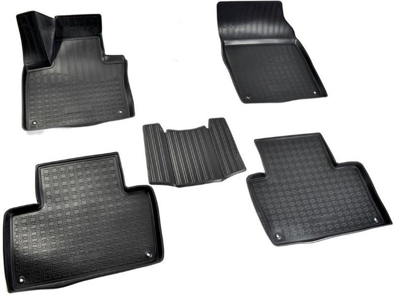 Коврики в салон Норпласт полиуретан черный NPA11C96780 Volvo XC90 2015- датчик давления в шинах volvo 31362304 volvo xc90 2015