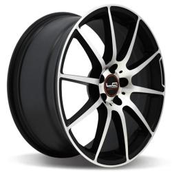 Диск колесный LegeArtis Реплика Concept-MR528 8.5xR19 5x112 ET43 ЦО66.6 черный матовый с полированной лицевой частью 9188277 недорого